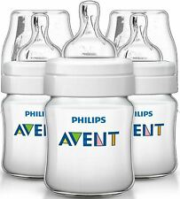 Philips Avent Feeding Bottle 260mL Baby Toodler Anti Colic Easy Clean Pack of 3