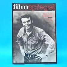 DDR Filmspiegel 2/1975 Dean Reed Gojko Mitic Gerard Philipe Hans-Gerd Sonnenburg