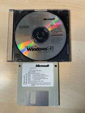Microsoft Win 98 Operating System 2nd Ed CD w/ Valid Product Key and Boot DISK.