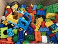 Duplo 1.7KG Bundle Box of Bricks Blocks Vehicle Genuine Lego Job Lot