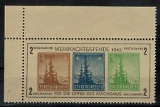 NK88) 1945 Thuringen Weihnachtsspende MNH  fake/maakwerk