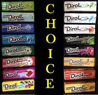 DIROL Chewing Gum * 10/30/90 pcs! Best price! Big choice.