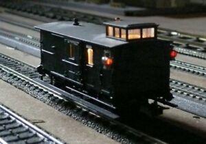 K26  Trix International 52 3622 Packwagen mit SB DRG 109   081
