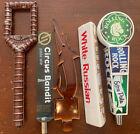 5 Beer Tap Handles - Rolling Rock, Thunder Canyon, Circus Bandit, Sun Up- Lot 6