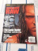 WWF RAW Wrestling Magazine December 1999 Triple H w/Tori Poster WWE