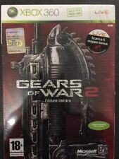 Microsoft Xbox360 Xbox 360 Gears Of War 2 Limited Edition FACTORY SEALED >ITA<