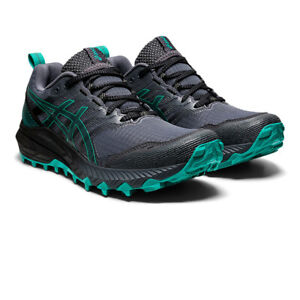 Asics Womens Gel-Trabuco 9 Trail Running Shoes Trainers Sneakers Black Green
