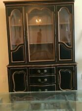 Wooden China Cabinet Breakfront in very good condition