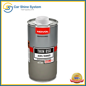NOVOL ACRYLIC THINNER Lacquer Solvent Perfect Repair Paint STANDARD 500ml