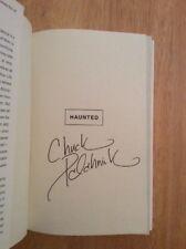 """SIGNED by Chuck Palahniuk - Haunted HC + Pic """"Fight Club, Choke"""""""