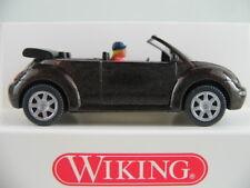 Wiking 03202 VW New Beetle Cabrio (2003) in dunkelbraunmet. 1:87/H0 NEU/OVP
