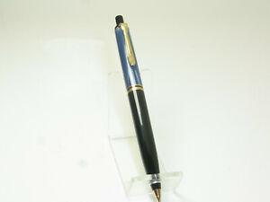 Excellent Vintage PELIKAN D200 0.5 Blue Marbled Mechanical Pencil