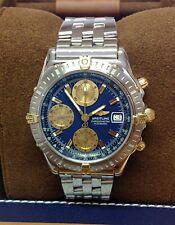 Breitling Chronomat B13352 Bi/Colour Blue Dial SERVICED BY BREITLING