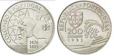 PORTUGAL 200 escudos 1991 S/C COLOMBO E PORTUGAL - Cristobal Colon