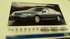 2003 FORD FALCON FUTURA Leasing   Original  Sales Leaflet