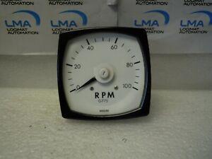 ANDERS SE G775 RPM 0-100 Gauge Meter 20V 1k