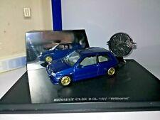 1/43 Renault Clio Williams Bleu Sport 1996 Universal Hobbies ref: 7711420101