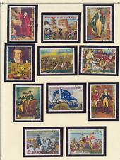 Equatorial Guinea Stamp Set, U.S. Bicentennial/Washington, CTO