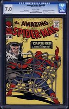 1965 Marvel Comics Amazing Spider-Man 25 CGC 7.0 1st Appearance Mary Jane Watson