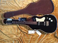 Vintage 1958 Silvertone Rare U2 Model in Black Complete with Case in VGCondition