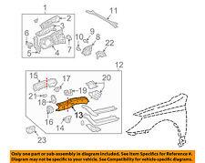 TOYOTA OEM 02-11 Camry Fender-Inner Rail Left 5711206030