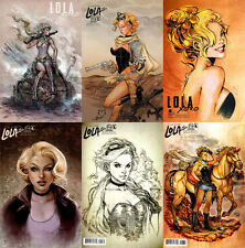 Lola XOXO #1-6 C Covers Complete Incentive Set Aspen 9.4 NM Siya Oum First Print