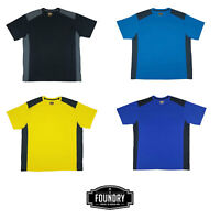 The Foundry Big & Tall 2 Tone Big Man's Crew Neck T-Shirts's in XL & XLT Sizes