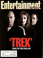 "PATRICK STEWART 1994 Entertainment Magazine ""STAR TREK THE NEXT GERNERATION"""