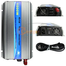 1000W Watt Solar Micro Grid Tie Power Inverter for Solar Panel 20-45V AC