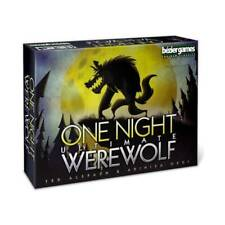 One Night Ultimate Werewolf Card Game - Bezier Games - New & Sealed