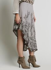 NEW FREE PEOPLE Sz 4 DANCE WITH ME ASYMMETRICAL BEADED MAXI SKIRT $298