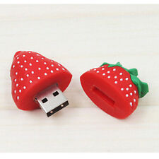 New Mini Cute Strawberry Imitate Model 8GB USB 2.0 Memory Stick Flash pen Drive