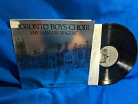 Ned Hanson LP Toronto Boy's Choir The Hanson Singers BC 101 Xmas