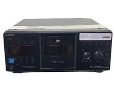 Sony DVP-CX995V Mega Storage 400 CD Compact Disc Changer *New Belts*