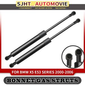 2pcs Bonnet Gas Struts for BMW X5 E53 Series SUV 2000-2006 Front Left & Right