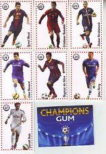 RARE COMPLETE SET FOOTBALL CARD #1-52 - CHAMPIONS GUM - BONUS EMPTY PACK