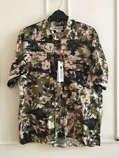 ZARA SRPLS Khaki Camo Print Shirt (CM SHRT 2) Size M Ref. 6929/190