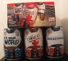 MOLSON CANADIAN INDY INDYSPORT CHAMP CAR BUBBA SET + BOX 5 LITRE MINI BEER KEGS