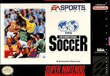 FIFA International Soccer (Super Nintendo Entertainment System, 1994) CART ONLY