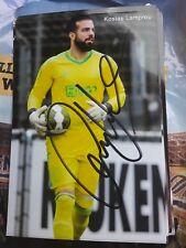 Signiertes Foto Kostas Lamprou Ajax Amsterdam  NEU