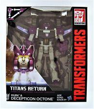 Transformers Generations TITANES RETORNO VOYAGER DECEPTICON Octone y MURK