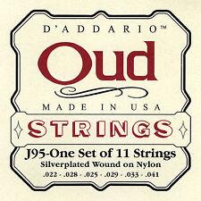 D'Addario Oud Strings J95-one Set of 11 strings