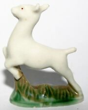 Wade Pottery Porcelain White Deer Fawn Rare Collectors Animal Figurine