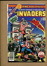 Invaders King Size #1 - Axis, Here We Come - 1977 (Grade 8.0) Wh