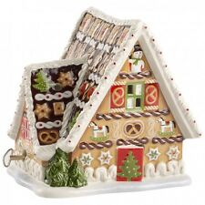 Villeroy & Boch CHRISTMAS TOYS Gingerbread House w/Music Box #6505