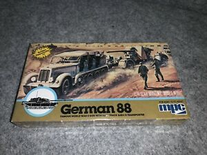 Vintage 1982 MPC German 88 Model Kit 1/76 1-6202