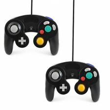 2x Schwarz Controller für Nintendo Gamecube Joypad Joystick Gamepad Control Pad