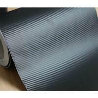 Carbon Fiber Vinyl 1-27M * 26cm width Truck Decal Film Black car Sticker DIY