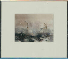 Richard Keeton RCA - Contemporary Mixed Media, Gulls and Waves