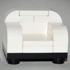 LEGO Furniture: White Chair - Custom LEGO Home Design [minifigure,house,parts]